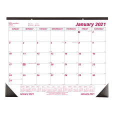 Brownline Classic Monthly Desk Pad Calendar