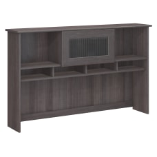 Bush Furniture Cabot 60 Hutch Heather