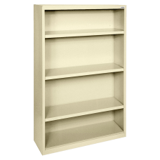 Lorell Fortress Series Steel Bookcase 4