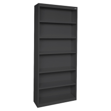 Lorell Fortress Series Steel Bookcase 6
