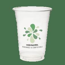Highmark Compostable Plastic Cups 16 Oz