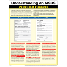 ComplyRight Understanding A MSDS Poster 18