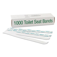 Bagcraft SaniShield Printed Toilet Seat Bands