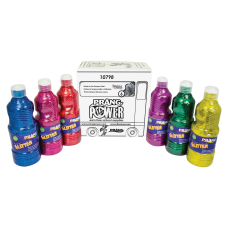 Prang Power Glitter Paint Set 16
