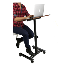Mind Reader Adjustable Metal Standing And