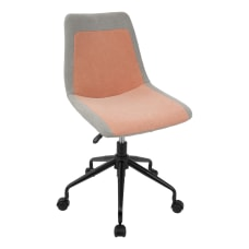Lumisource Orzo Task Chair OrangeGray with