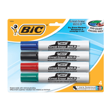 BIC Great Erase Bold Vivid Colors