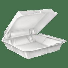 Dart Large Carryout Foam Trays 1