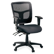 Lorell Ergonomic MeshFabric Mid Back Chair