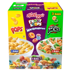 Kelloggs Assorted Cereal Variety Pack Pack