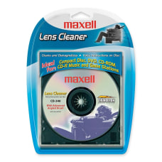 Maxell CD 340 CD Lens Cleaner