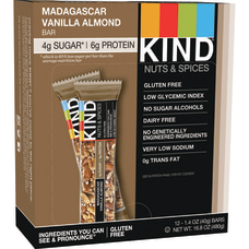KIND Madagascar Vanilla Almond Bars 141