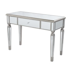 SEI Wedlyn Mirrored Storage Console Table