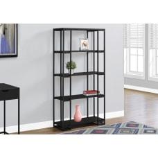 Monarch Specialties 4 Shelf Contemporary Metal