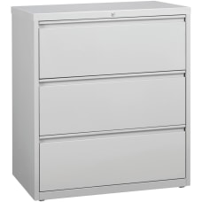 Lorell 36 W Lateral 3 Drawer