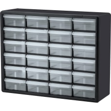 Akro Mils Plastic 24 Drawer Storage