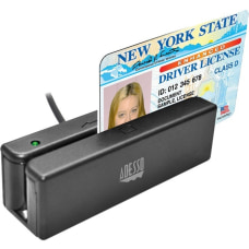 Adesso MSR 100 Magnetic Stripe Card