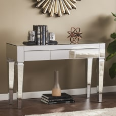 Southern Enterprises Darien Contemporary Mirrored Console