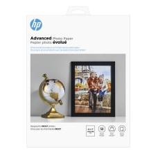 HP Advanced Photo Paper for Inkjet