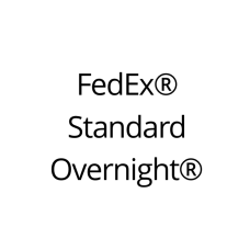 FedEx Standard Overnight Shipping