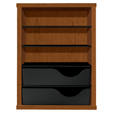 HON Laminate Vertical Paper Manager Bourbon