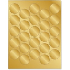 Geographics Gold Foil Seals 175 Diameter