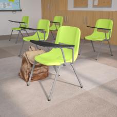 Flash Furniture Ergonomic Shell Chairs Green