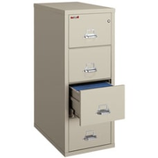 FireKing 25 D Vertical 4 Drawer