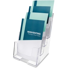 Deflect O 4 Compartment Booklet Holder