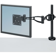 Fellowes Adjustable Monitor Arm Black