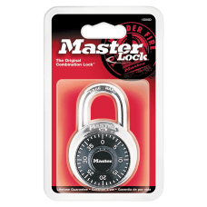 Master Lock Combination Padlock Black Pack