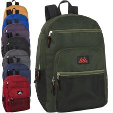 Trailmaker Deluxe Multi Pocket Backpacks Assorted