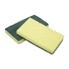 SKILCRAFT Heavy Duty Scrubber Sponges 6