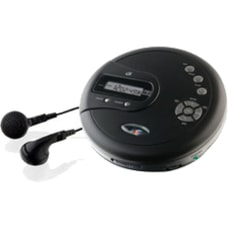 GPX PC332B CD Player Black LCD