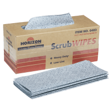 SKILCRAFT ScrubWipes Heavy Duty Wipers 11
