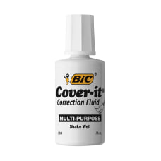 BIC Cover It Correction Fluid 20