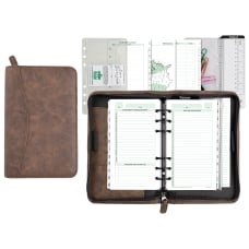 Day Timer Distressed Simulated Leather Planner