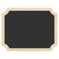 Amscan Chalkboard Easel Signs 7 x