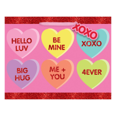 Amscan Candy Hearts Valentines Day Medium