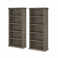 Bush Furniture Yorktown Tall 5 Shelf