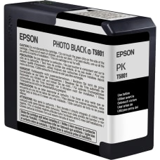 Epson T5801 T580100 UltraChrome K3 Photo