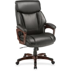 Lorell Executive Soft Seat Bonded Leather