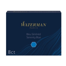 Waterman Refills Fountain Cartridges Blue Pack