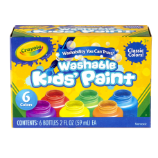 Crayola Washable Paint 2 Oz Pack
