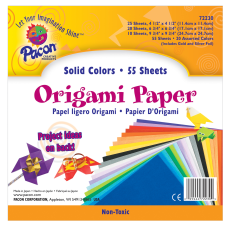 Pacon Origami Paper Pack Of 55