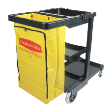 Rubbermaid Janitor Cart with 25 Gallon