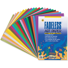 Pacon Assorted Fadeless Sheets 12 x