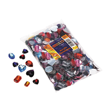 Creativity Street Acrylic Gemstones Buttons Assorted
