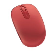 Microsoft 1850 Wireless Mobile Mouse Flame