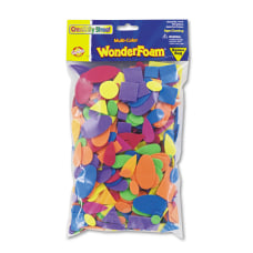 Chenille Kraft WonderFoam Shapes Assorted Colors